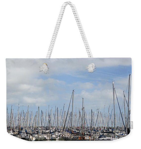 Harbour Of Enkhuizen Weekender Tote Bag