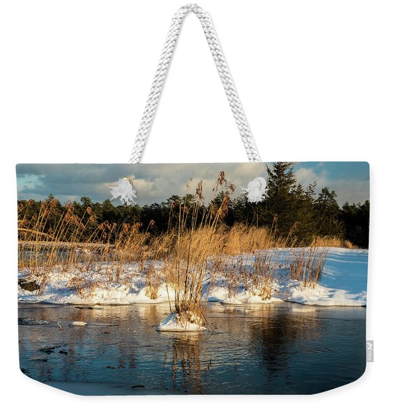 Hard Frosts And Icy Drafts Weekender Tote Bag