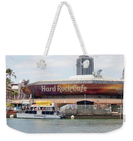 Hard Rock Cafe - Miami Weekender Tote Bag