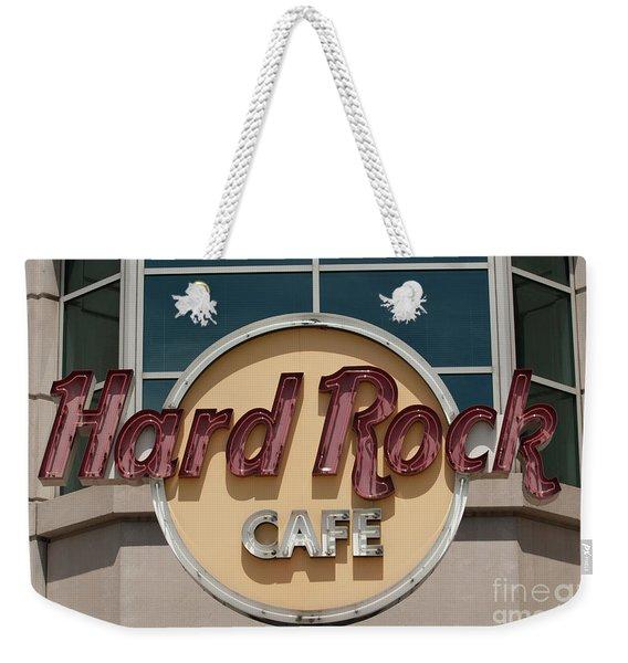 Hard Rock Cafe Weekender Tote Bag