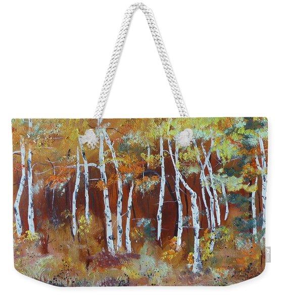 Harding Way  Aspens Dancing Weekender Tote Bag