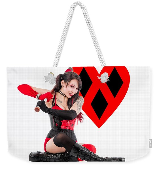 Harley Quinn Ready To Swing Weekender Tote Bag