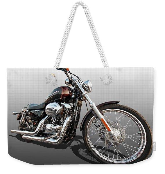 Harley Sportster Xl1200 Custom Weekender Tote Bag