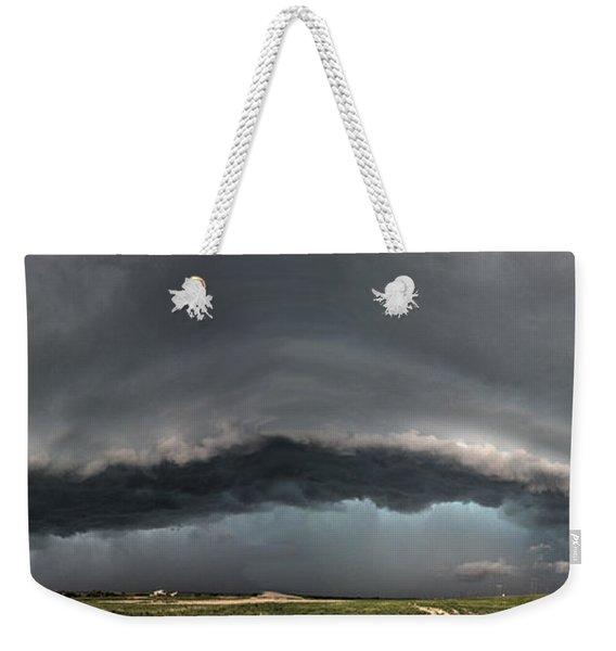 Harlowton, Montana, Supercell Weekender Tote Bag