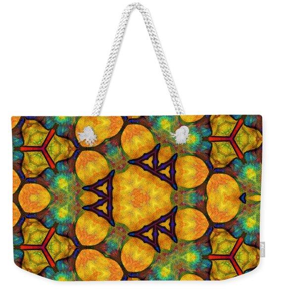 Harmony And Abundance Weekender Tote Bag