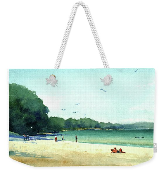 Harrington Beach, Wisconsin Weekender Tote Bag