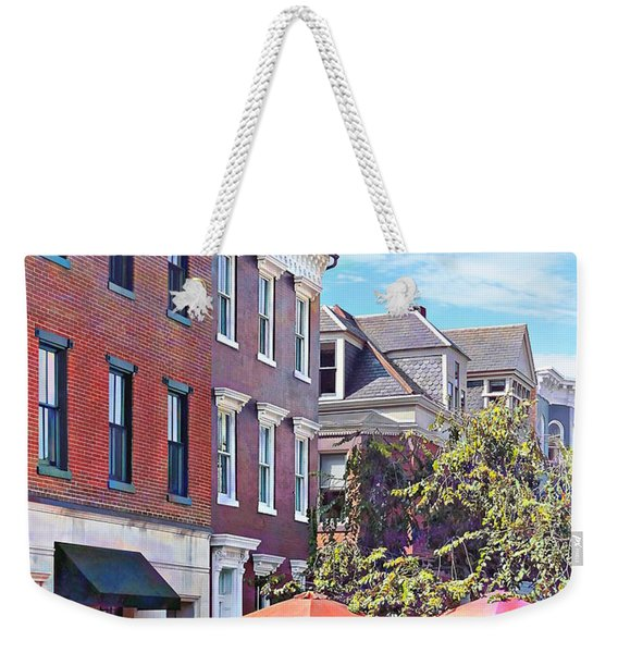 Harrisburg Pa - Coffee Shop Weekender Tote Bag