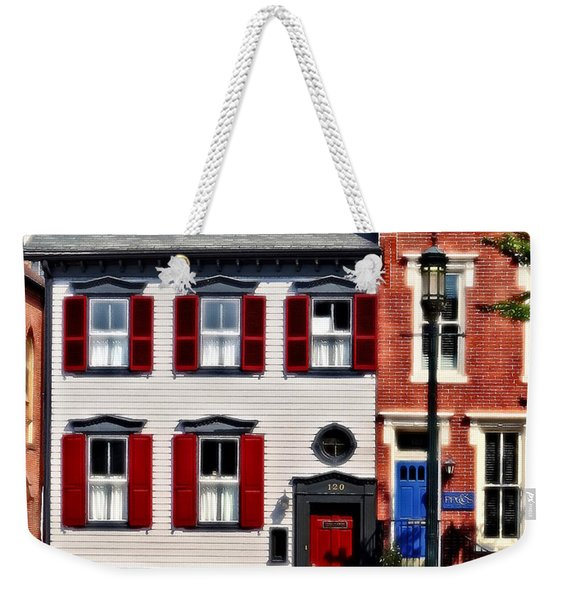 Harrisburg Pa - Roses On State Street Weekender Tote Bag