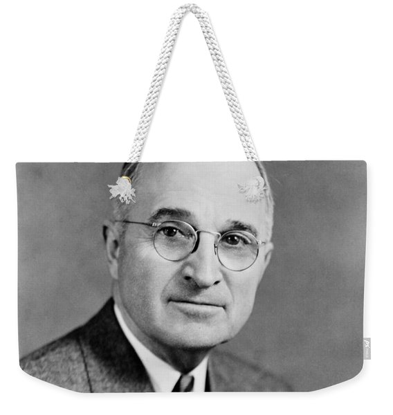 Harry Truman - 33rd President Of The United States Weekender Tote Bag