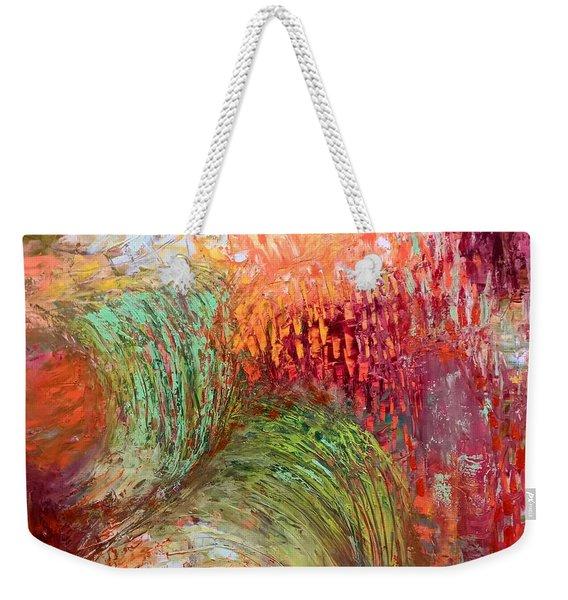 Harvest Abstract Weekender Tote Bag