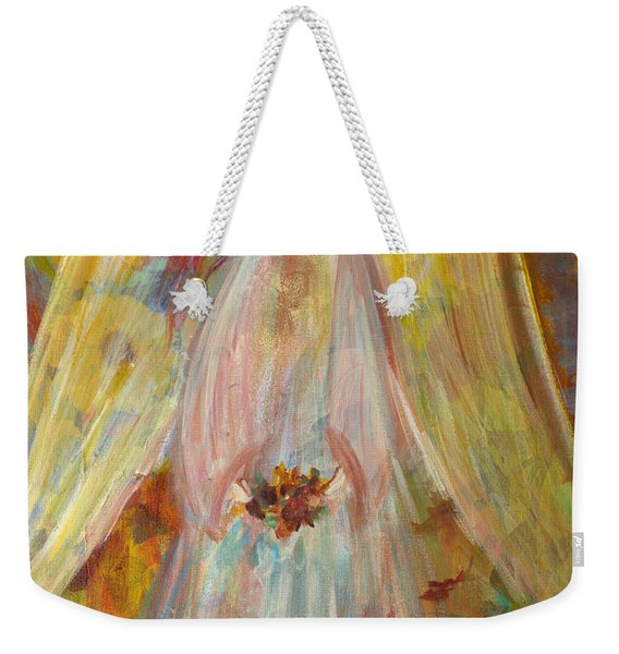 Harvest Autumn Angel Weekender Tote Bag