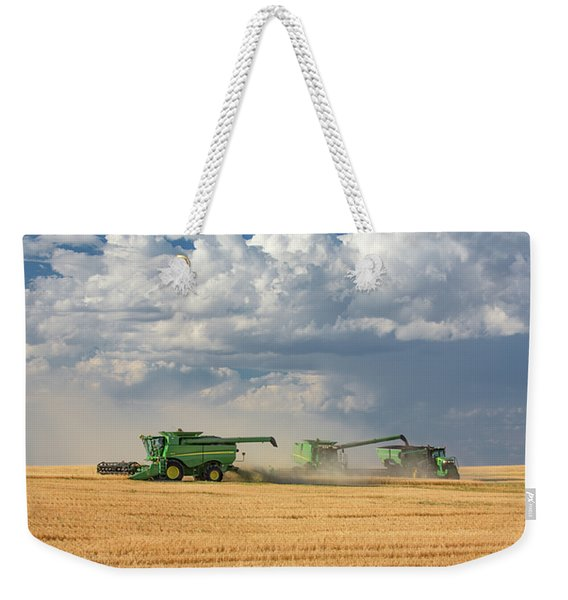 Harvest Clouds Weekender Tote Bag