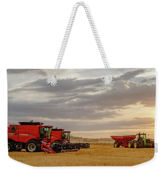 Harvest Delayed Weekender Tote Bag
