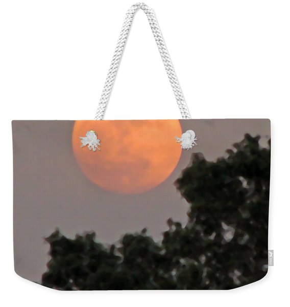 Harvest Moonrise Weekender Tote Bag