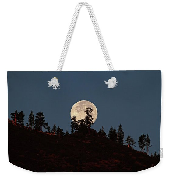 Harvest Moonset Weekender Tote Bag