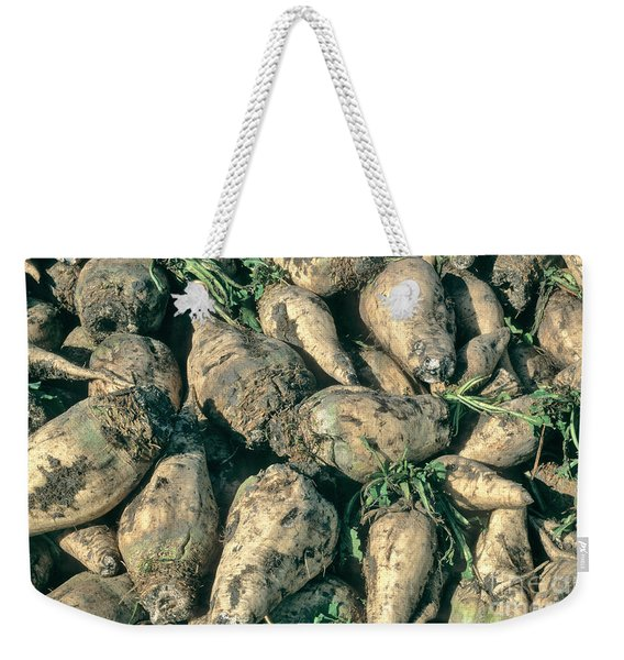 Harvested Sugar Beets Weekender Tote Bag