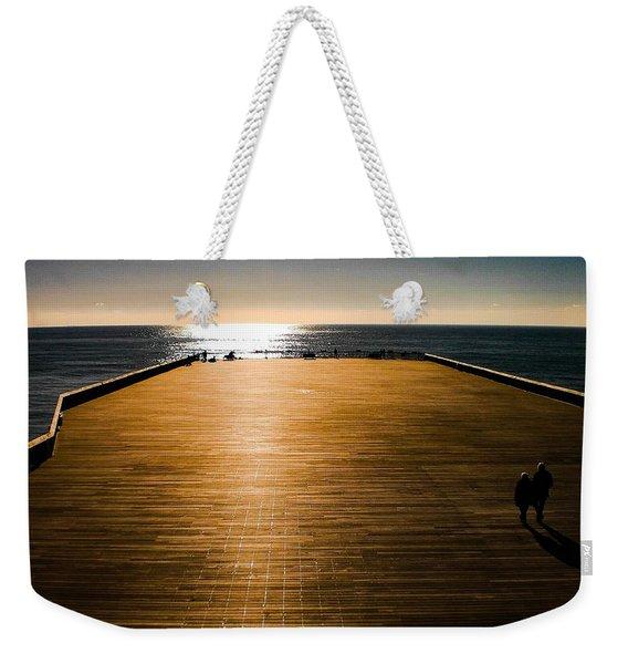 Hastings Pier, Hastings, Sussex, England Weekender Tote Bag