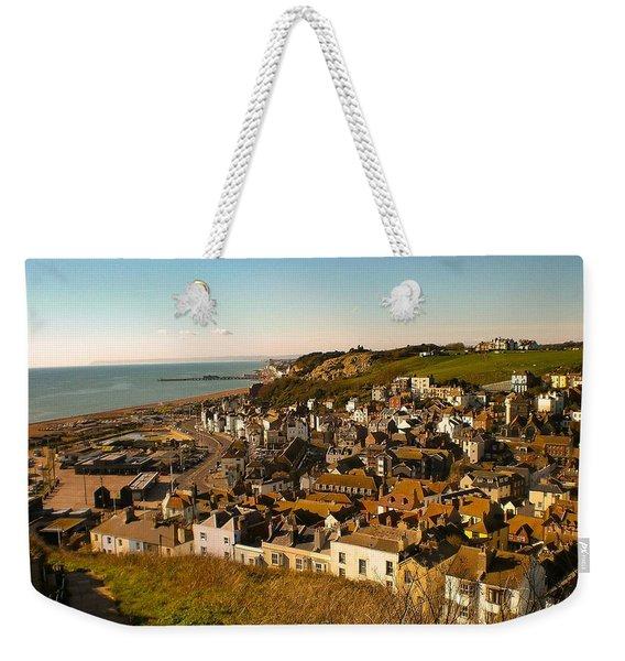 Hastings, Sussex, England Weekender Tote Bag