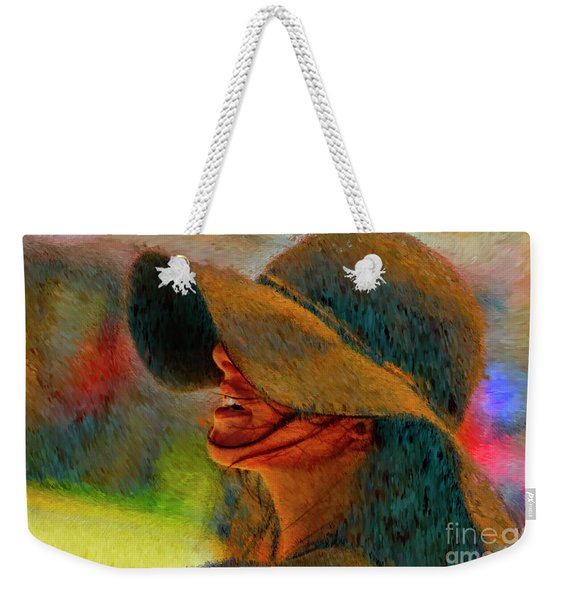 Hat And Ashley Bourne  Weekender Tote Bag