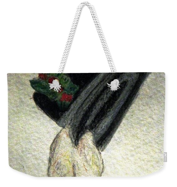 Hats Off To The Holidays Weekender Tote Bag
