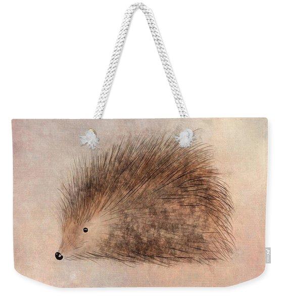 Hattie Hedgehog  Weekender Tote Bag