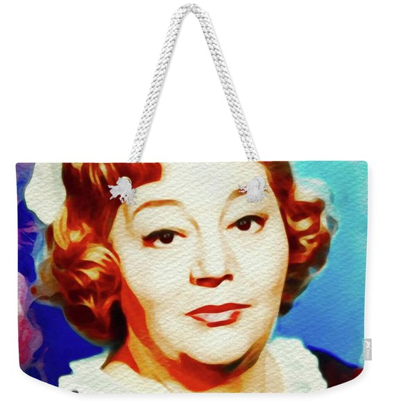 Hattie Jacques, Carry On Films Cast Weekender Tote Bag