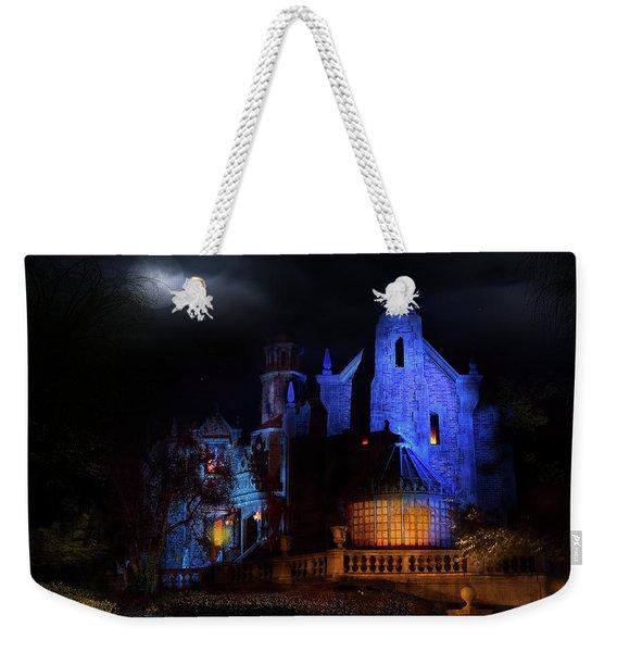 Haunted Mansion At Walt Disney World Weekender Tote Bag