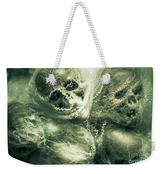 Haunted Undead Skeleton Heads Weekender Tote Bag