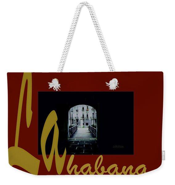 Havana Poster 2 Weekender Tote Bag