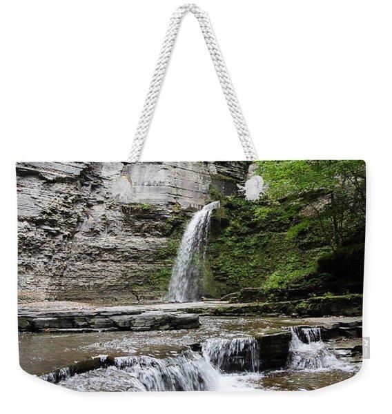 Eagle Cliff Falls II Weekender Tote Bag