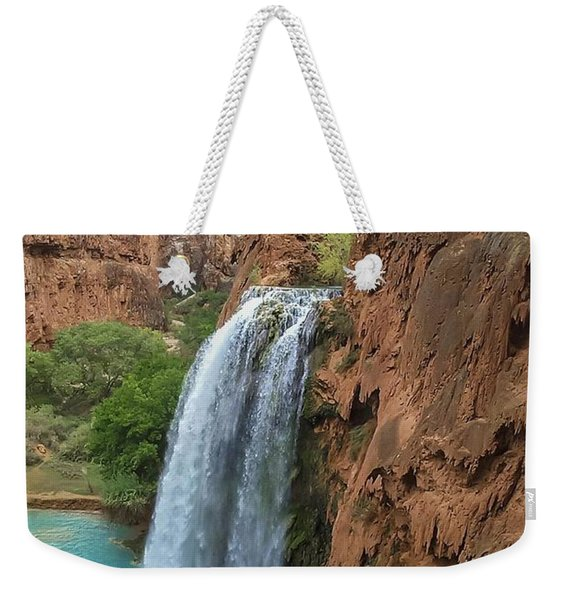 Havasu Falls Grand Canyon Weekender Tote Bag