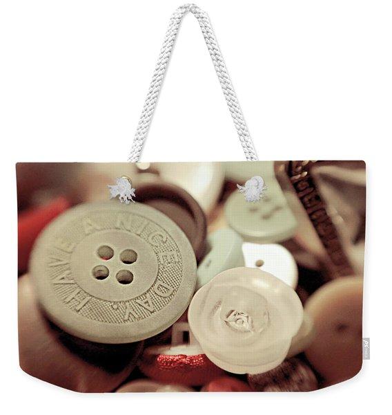 Have A Nice Day Weekender Tote Bag