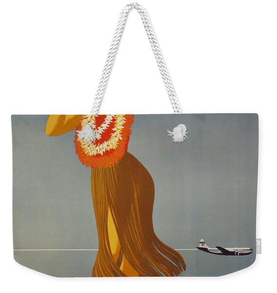 Hawaii By Clipper Weekender Tote Bag