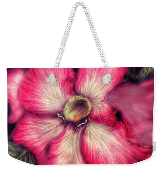 Hawaii Flower Weekender Tote Bag