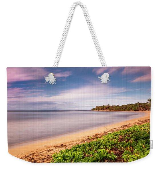 Hawaii Pakala Beach Kauai Weekender Tote Bag