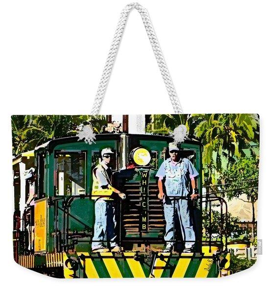 Hawaiian Railway Weekender Tote Bag