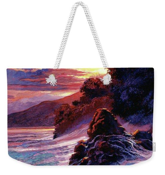 Hawaiian Sunset - Kauai Weekender Tote Bag