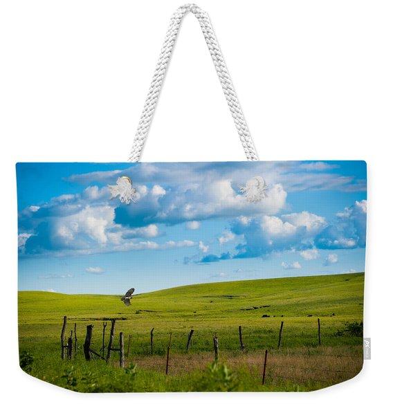 Hawk And Flint Hills Weekender Tote Bag