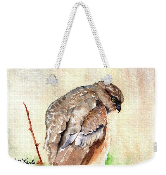 Hawk Weekender Tote Bag