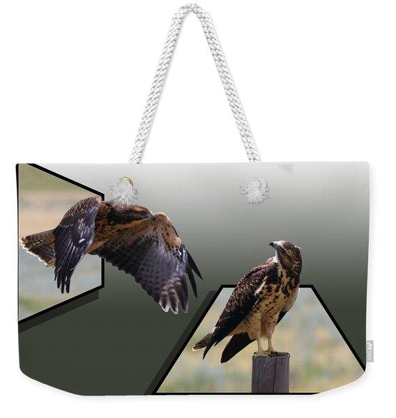Hawks Weekender Tote Bag