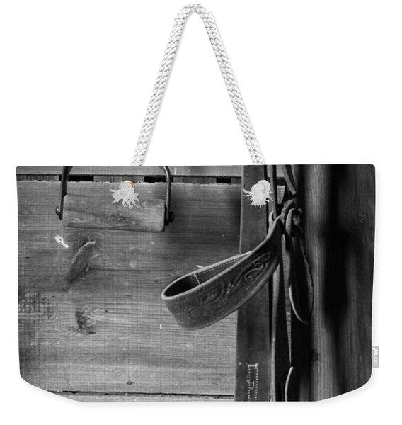 Hay Hook And Harness Weekender Tote Bag