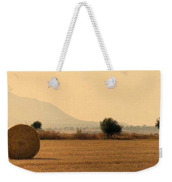 Hay Rolls  Weekender Tote Bag