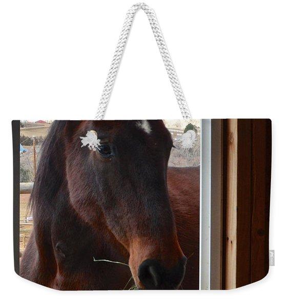 Hay There Weekender Tote Bag