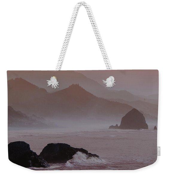 Haystack Rock Weekender Tote Bag