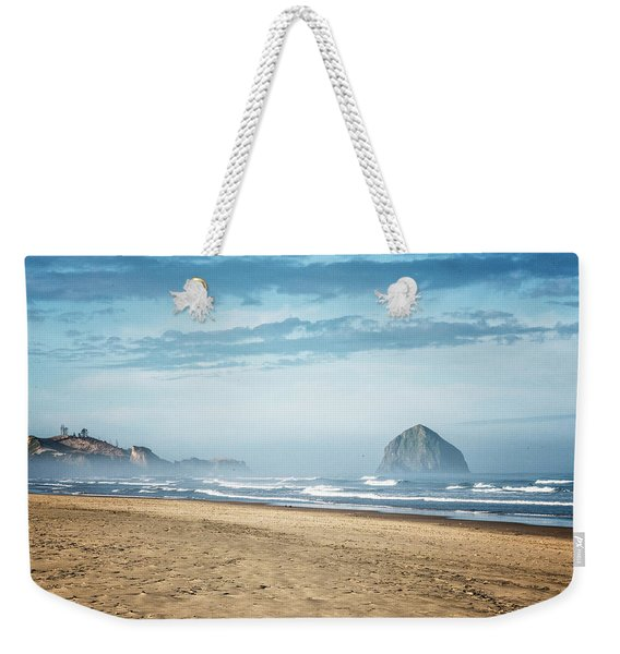 Haystack Rock Pacific City Weekender Tote Bag