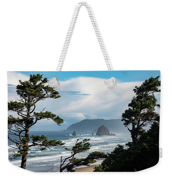 Haystack Views Weekender Tote Bag