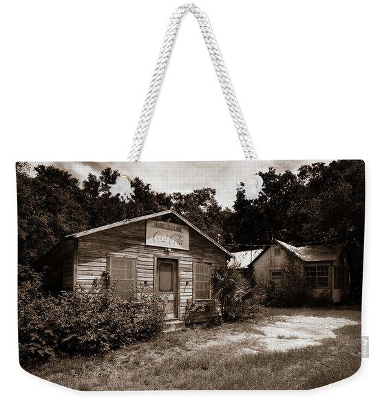 Hazel's Cafe Weekender Tote Bag