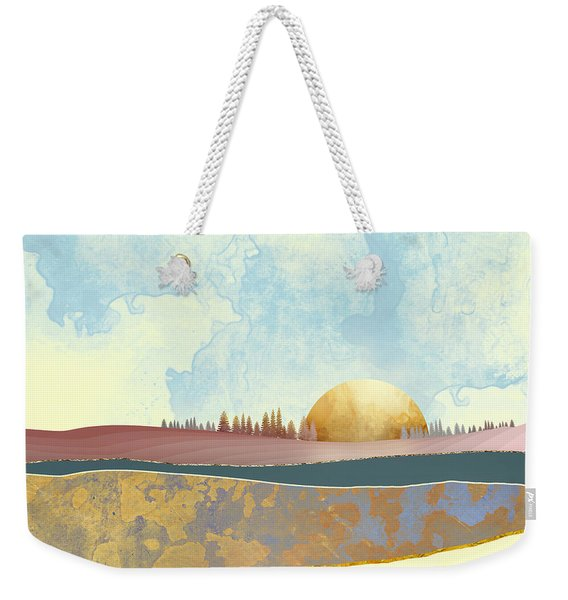 Hazy Afternoon Weekender Tote Bag
