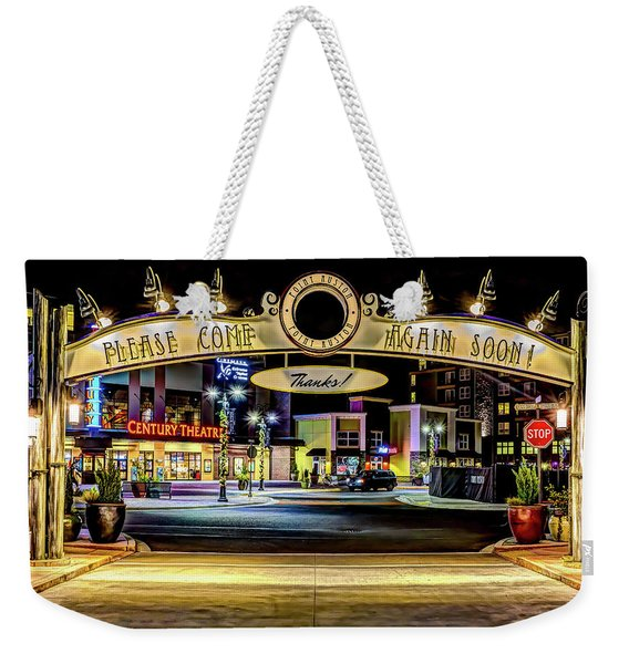 Hdr Of Point Ruston Come Again Soon Archway Weekender Tote Bag