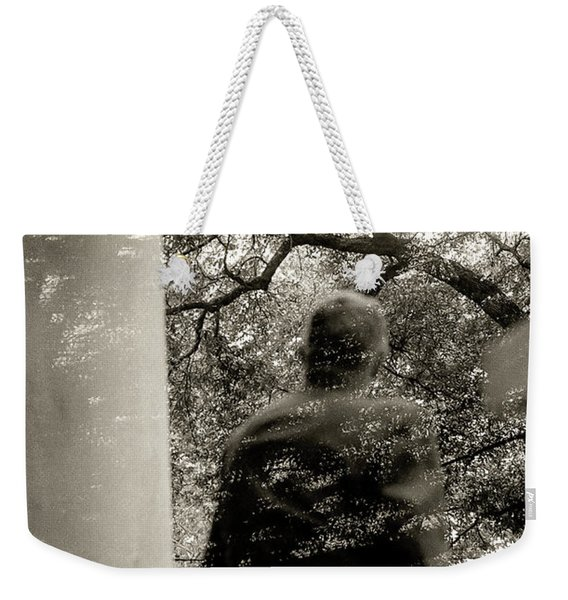 He Once Was There Weekender Tote Bag